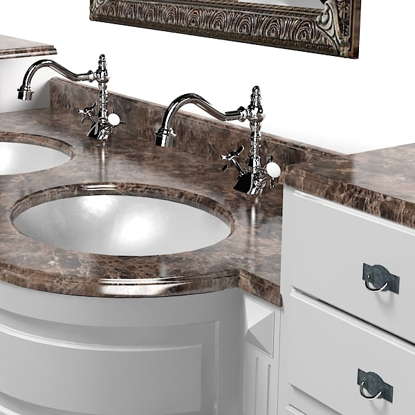 lineatre silver classic bathroom washing  sink furniture vanity tap collection 11_1.jpg