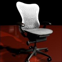 3ds max herman miller mirra chair