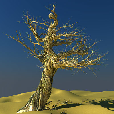 old tree 3d model - Old Trees... by 3DUA