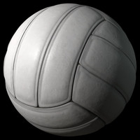 High Polygon 3D Volleyball