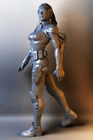 obj combat girl