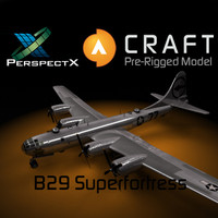 B-29 Superfortress Pre-Rigged for Craft Director Studio