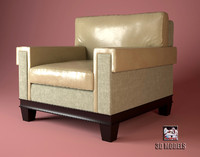 barbara barry lounge 3d model