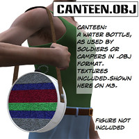 3d canteen bottle
