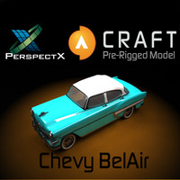 Chevy Bel Air Pre-Rigged for Craft Director Tools