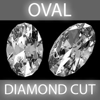 Oval Diamond cut