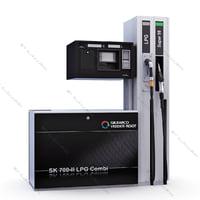 new pumping unit gilbarco 3d model