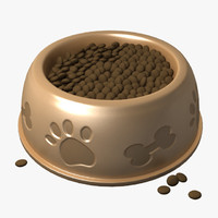 Dog Food Water Bowl
