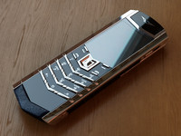 realistic vertu signature s 3d model