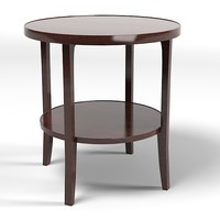 baker 4058  bill sofield round table coffee side modern contemporary