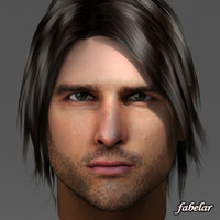 head tom cruise 3d model