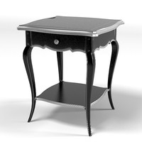 flai classic black side coffee table