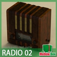 old radio baryton 3ds