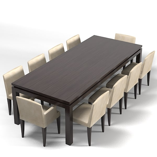 meridiani douglas dining table cruz tre roberts chair armchair modern contemporary.jpg
