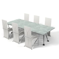 Modern dining table hi-tech