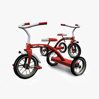 Classic Children Bicycle (2 textures set)