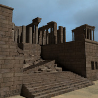 Ruins of the Propylaea