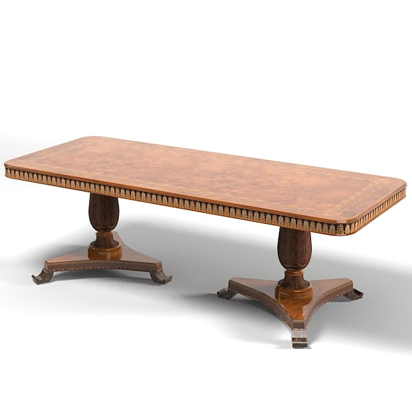 Provasi francesco molon 3d model for New model dining table