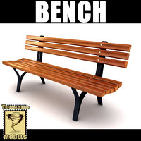 playground bench 3d 3ds