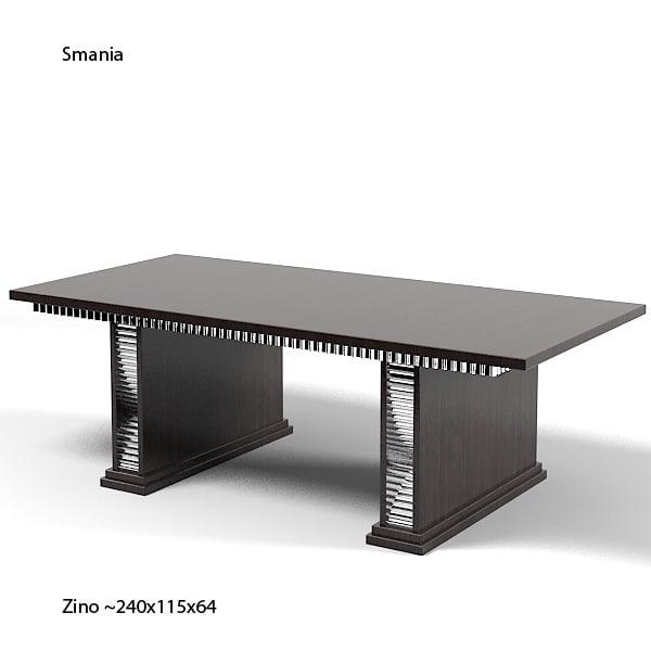 Smania Zino Modern 3d Model