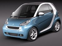 Smart 42 fortwo 2011