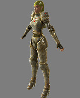 Female Knight  - Realtime
