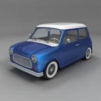 3d model minicar minicooper