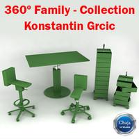 360º Family - Konstantin Grcic