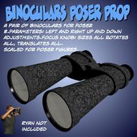 Binoculars Poser Prop