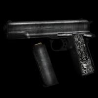 colt 1911 pistol 3ds