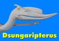 3d dsungaripterus