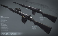 M14 Modern Rifles Package