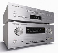 3d model marantz dvd player amplifier