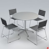 table set 3d model
