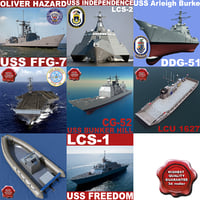 US Navy Ships Collection V2
