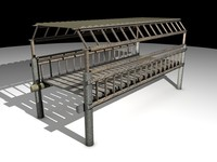 woodbridge bridge 3d model