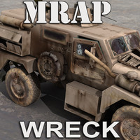 MRAP Damaged