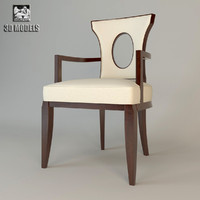 Barbara Barry Graceful Arm Chair