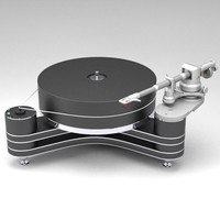 clearaudio innovation turntable 3d model