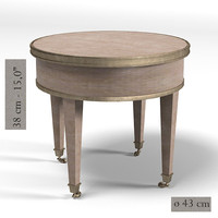 pierre table serving 3d model