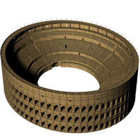 Roman Colosseum Low Poly Version