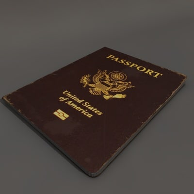 passport documentary 3d model - Passport... by JCihelka