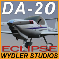 Diamond DA-20 Eclipse Exterior