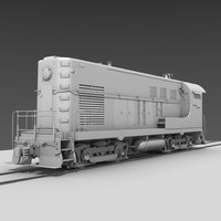 Diesel Switcher Locomotive