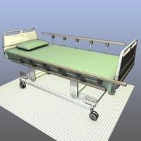 Hospital Bed on Casters