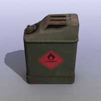 old canister 3d model