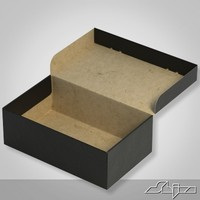 3d model carton box close