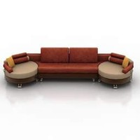 brown leather sofa(1)