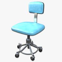 doctors stool 3d model