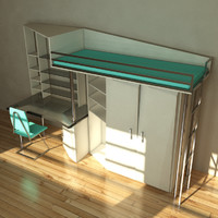 modern set furniture 3d max